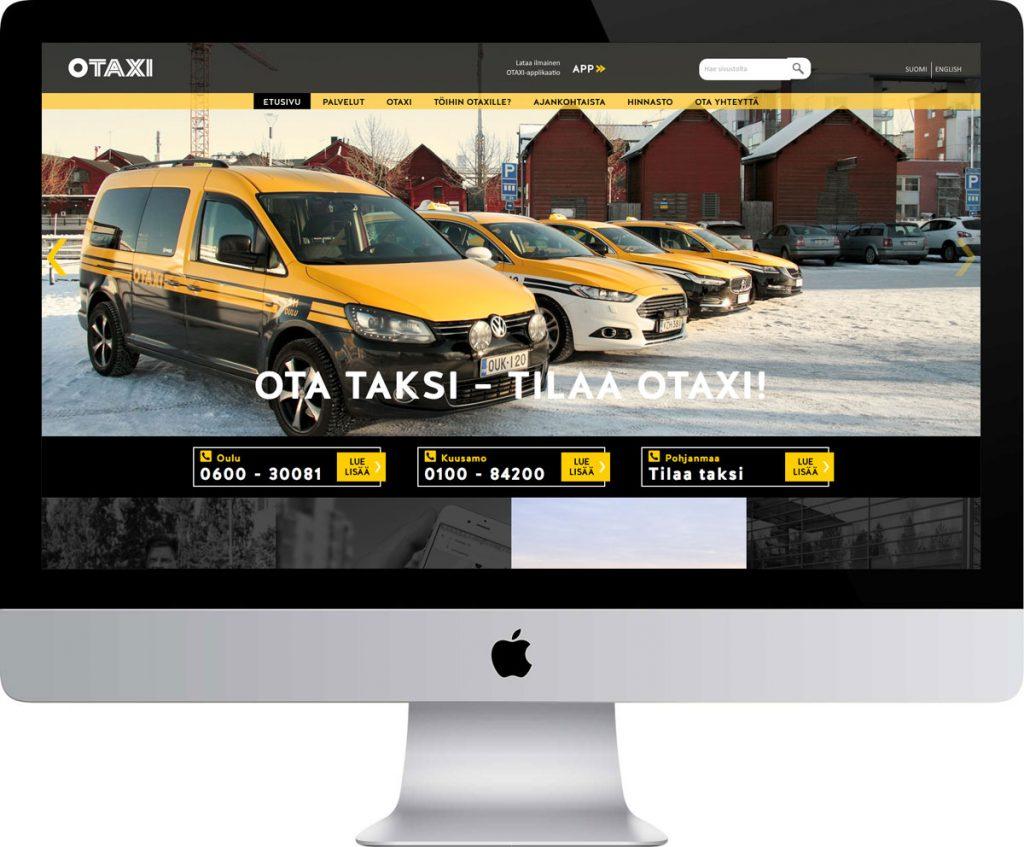 Otaxi nettisivut