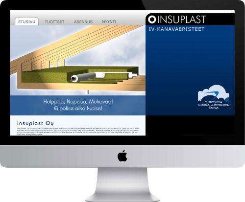 Insuplast Oy verkkosivusto