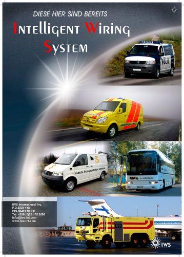 IWS Sähköjärjestelmän esite saksankielinen