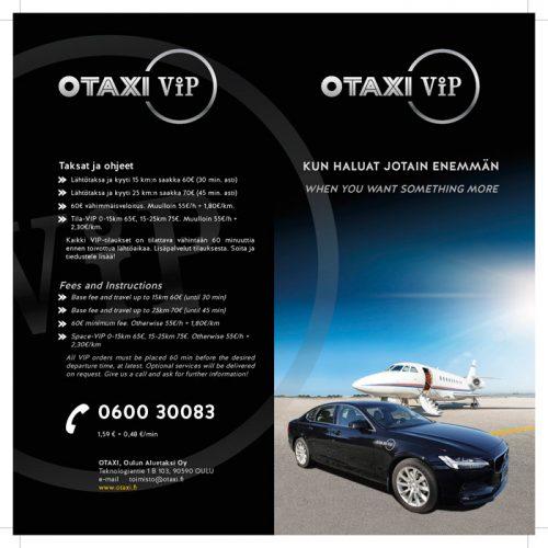 OTAXI VIP-taksipalveluiden esite
