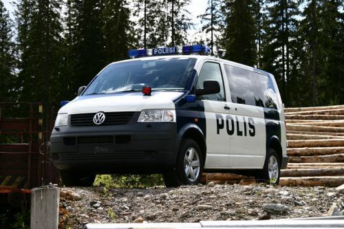 IWS Profile Poliisiauto, kuvaukset asiakkaan markkinointimateriaaleja varten