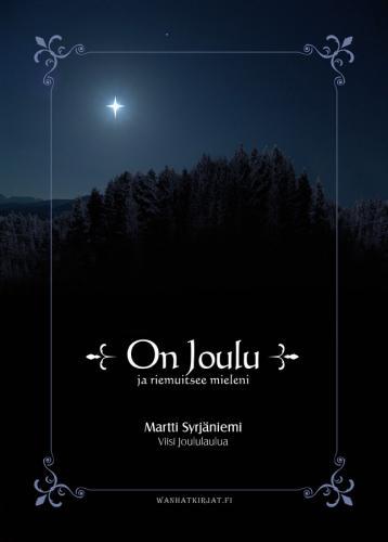On Joulu, joululaulukirjan kansien suunnittelu