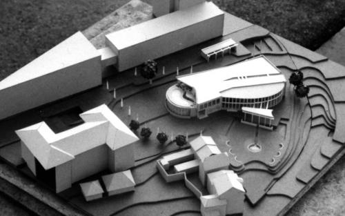 Idea for the new administration building of Plymouth University, 1997
