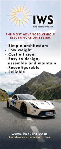 IWS sähköauto rollup
