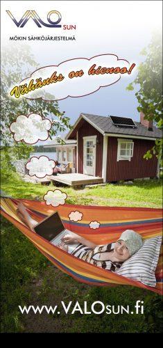 Valosun, kodin sähköjärjestelmä rollup