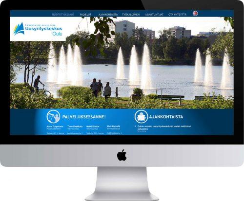 Oulun Seudun Uusyrityskeskus Oy verkkosivusto