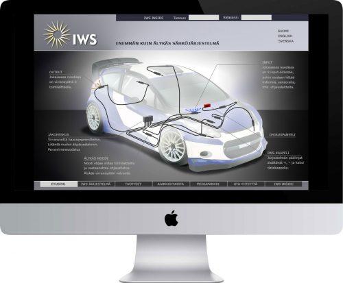 IWS Int. Oy verkkosivusto
